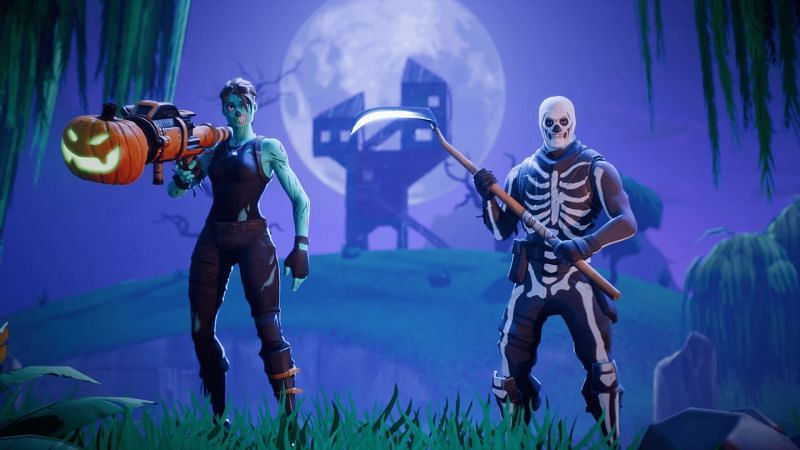 Fortnitemare is on the verge, and players should be rocking some scary outfits during the Halloween (Image credit: Epic Games)