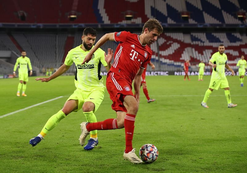 Muller created chances for Bayern Munich but squandered promising moments with his decision-making