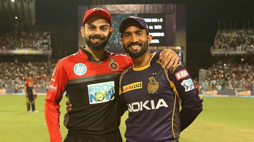 The Royal Challengers Bangalore take on the Kolkata Knight Riders in Match 28 of IPL 2020.
