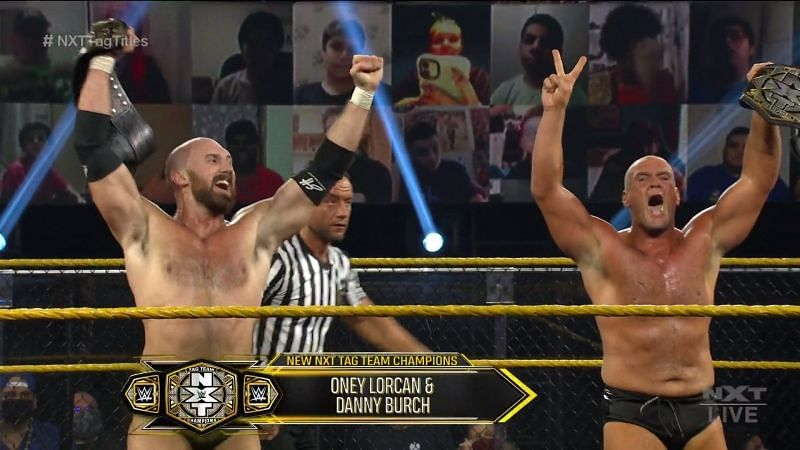 The new NXT Tag Team Champions