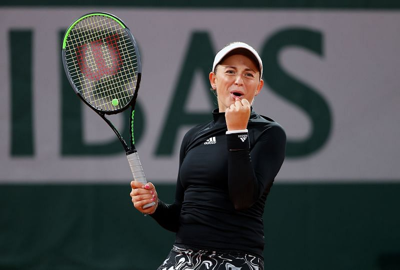 Jelena Ostapenko thoroughly enjoyed her time on the court today