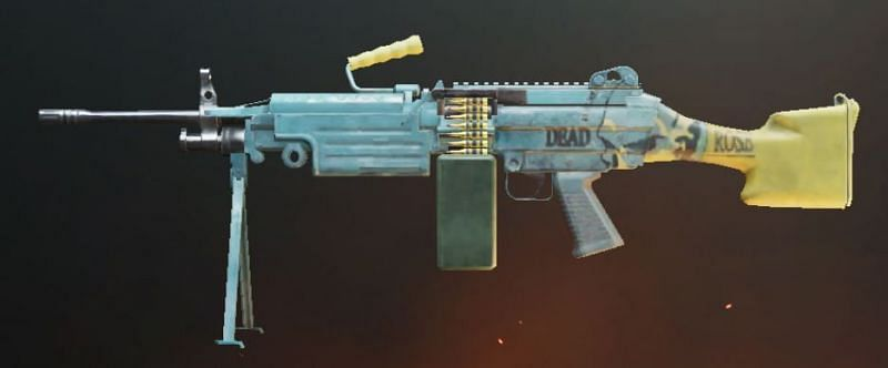 M249 recoil and attachments (Image credits: Zilliongamer.com)