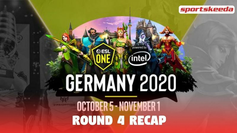 Round 4 of the ESL One Germany Dota 2 Championships 2020 is now over