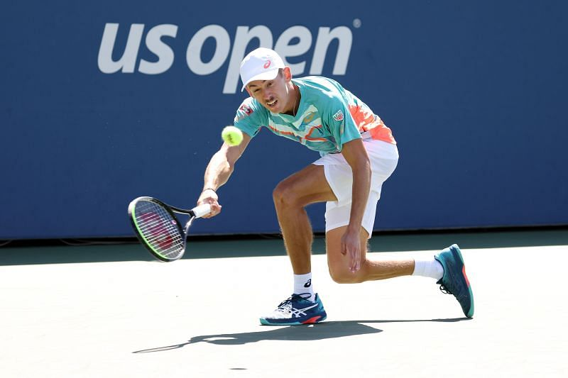 Alex de Minaur during his 2020 US Open run