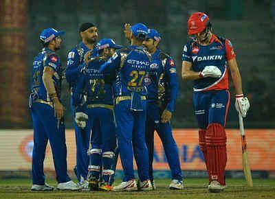 The Mumbai Indians beat the Delhi Capitals in 2017.