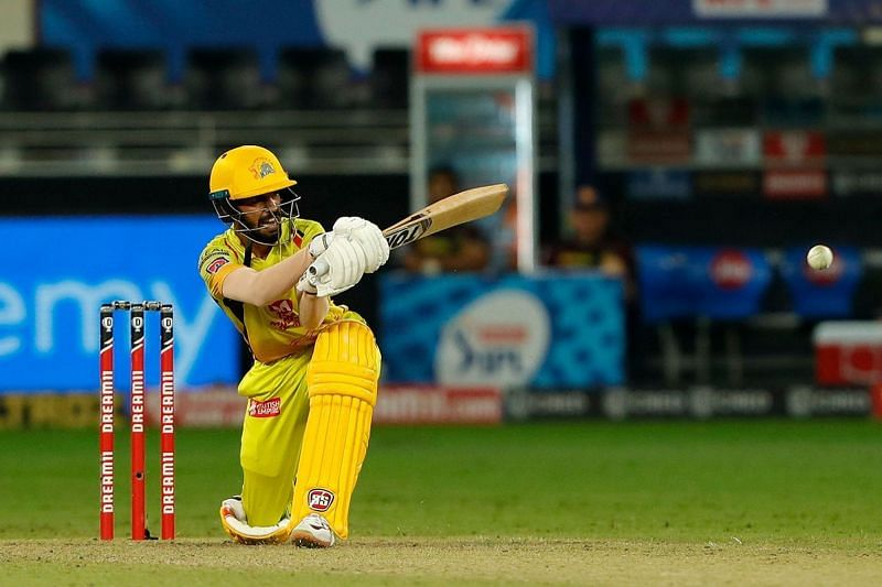 Ruturaj Gaikwad scored a second consecutive half-century for CSK at the top of the order [P/C: iplt20.com]