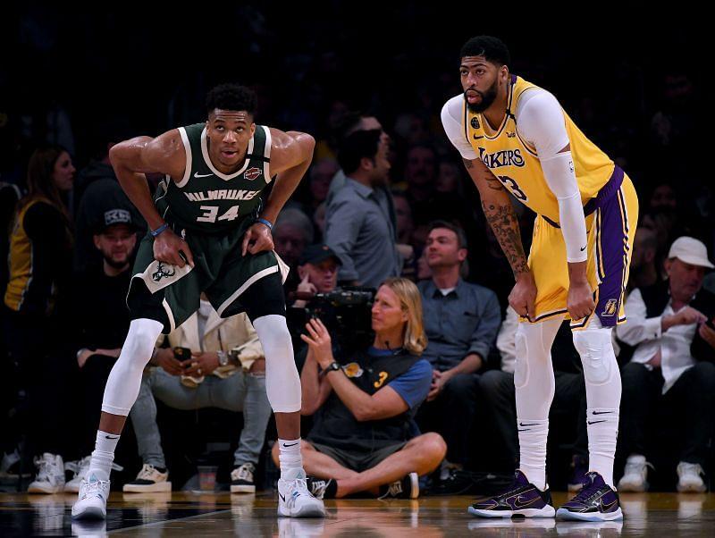 Milwaukee Bucks vs Los Angeles Lakers
