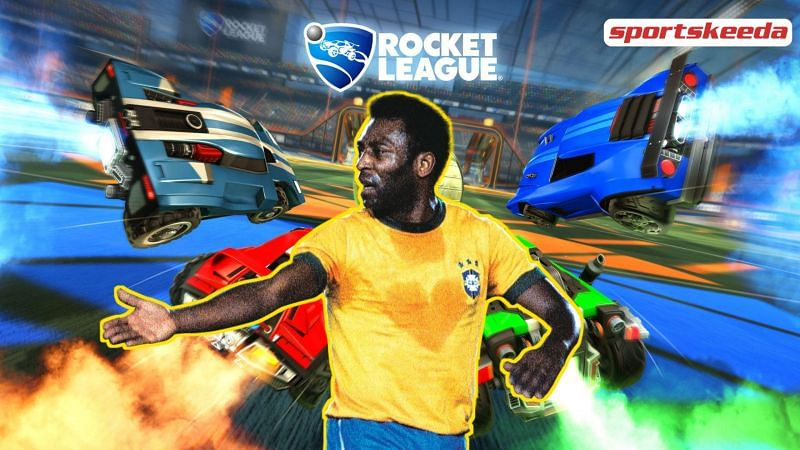 Rocket League introduces 3 Pelé-themed in-game items