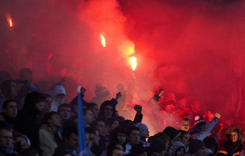 Zenit Saint Petersburg have a passionate fanbase