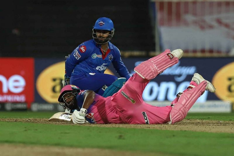 Sanju Samson registered his fourth consecutive single-digit score in IPL 2020 [PC: iplt20.com]