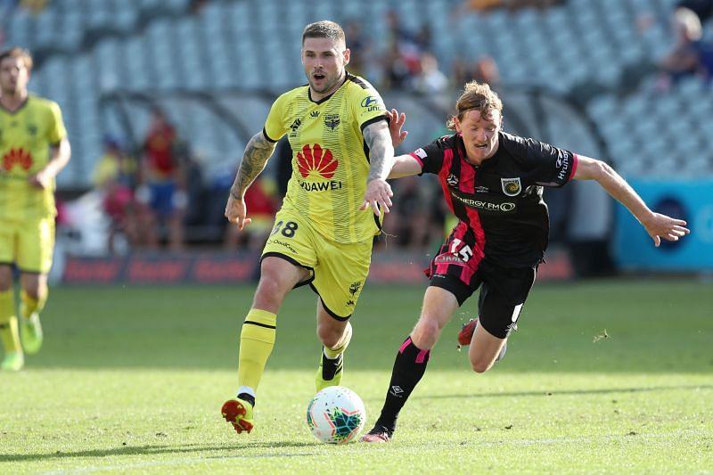 A-League Rd 22 - Central Coast v Wellington