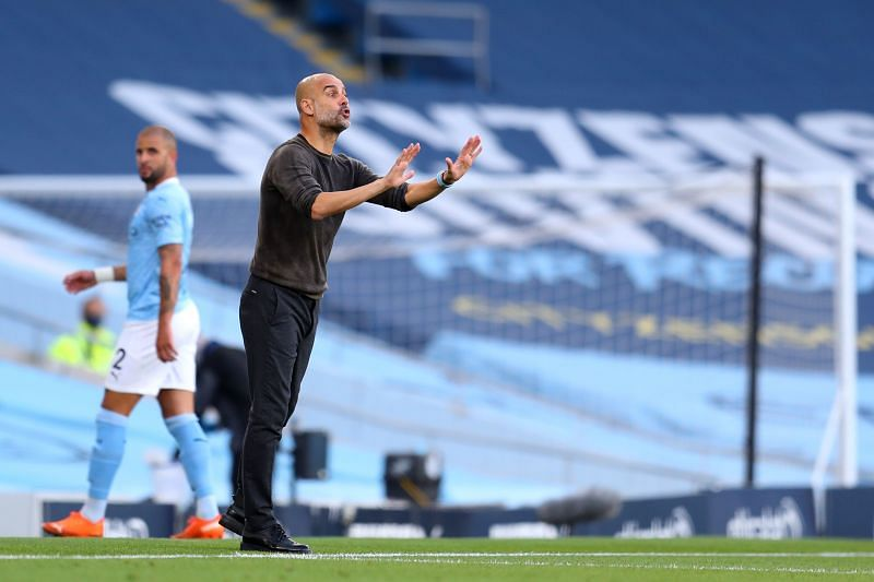 Another defender has failed to impress Manchester City manager Pep Guardiola.