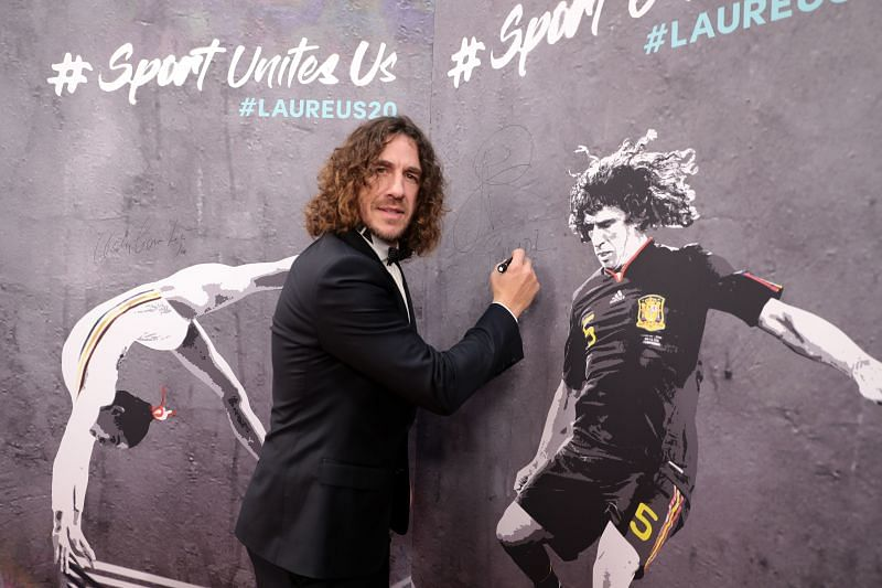 Puyol is one of Barcelona