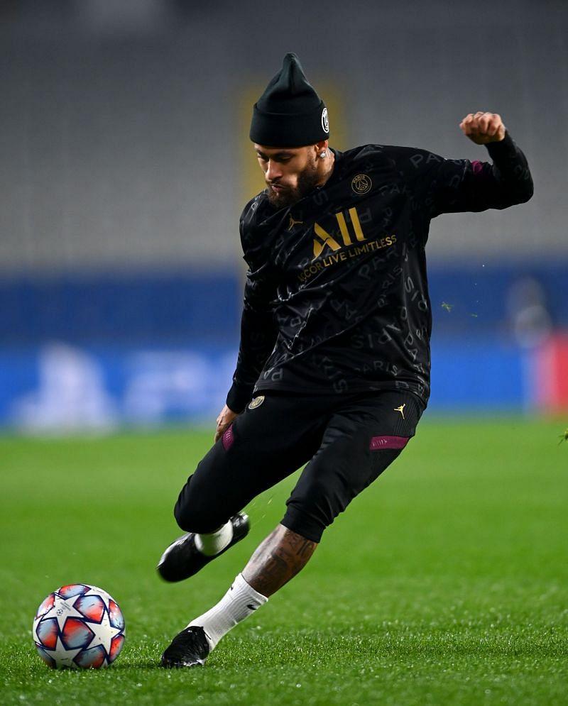 Neymar Jr. of Paris St. Germain