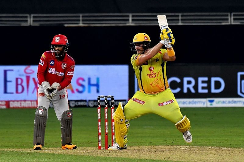 Shane Watson had blown away the Kings XI Punjab bowling attack earlier in IPL 2020. (Image Credits: IPLT20.com)