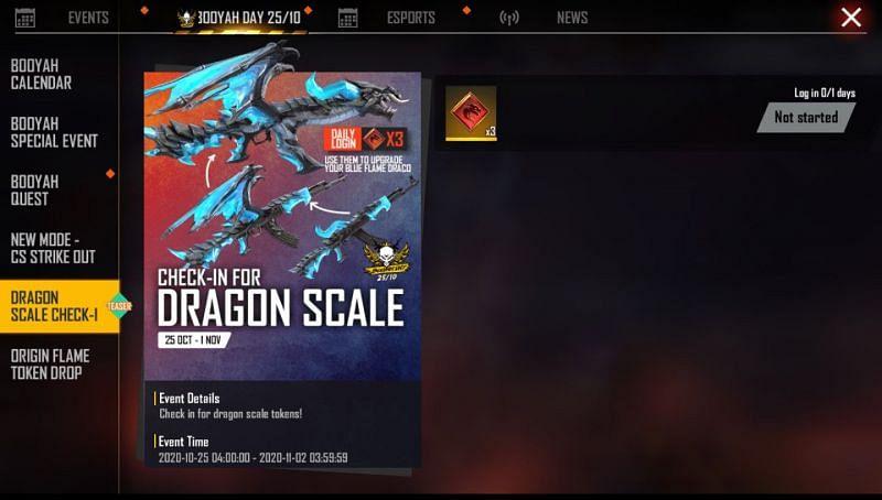 Dragon-Scale Check-In event
