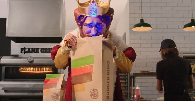 Sony has officially collaborated with Burger King for a new commercial (Image Credits: Burger King/ Twitter)