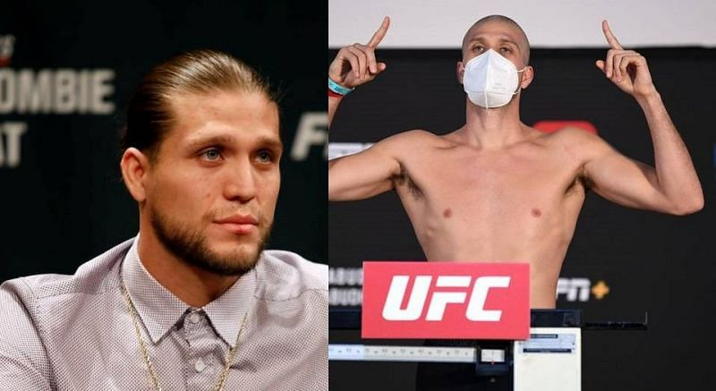 Brian Ortega has shaved his head ahead of his fight against The Korean Zombie