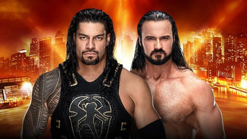 One of the latest rumored plans for Survivor Series has Roman Reigns facing Drew McIntyre.