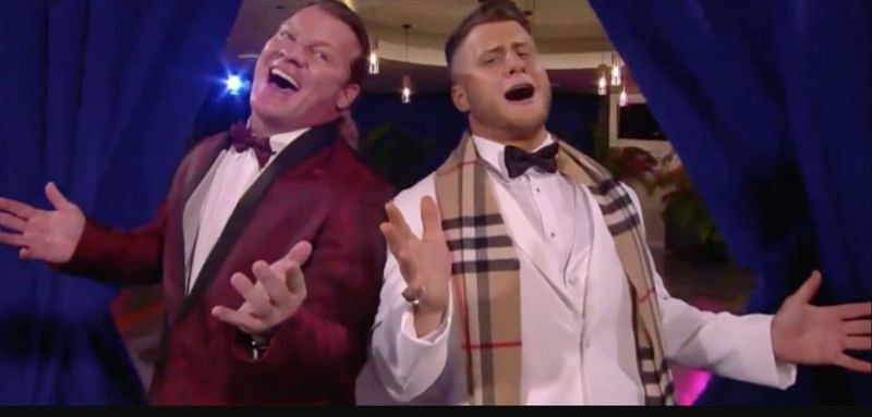Chris Jericho and MJF in AEW