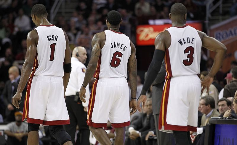 LeBron James has had some brilliant teammates during his career.
