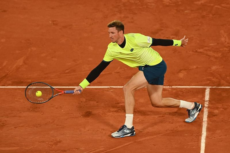 Dennis Novak at the 2020 French Open
