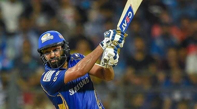 Rohit Sharma was the top-scorer for Mumbai Indians in yesterday