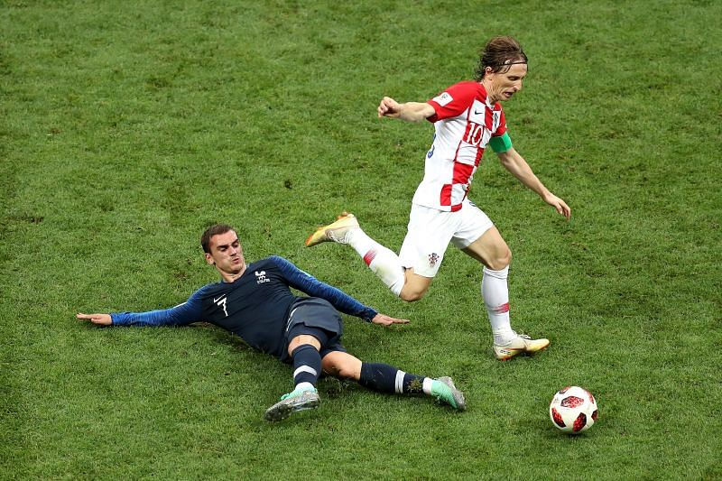 France take on Croatia this week