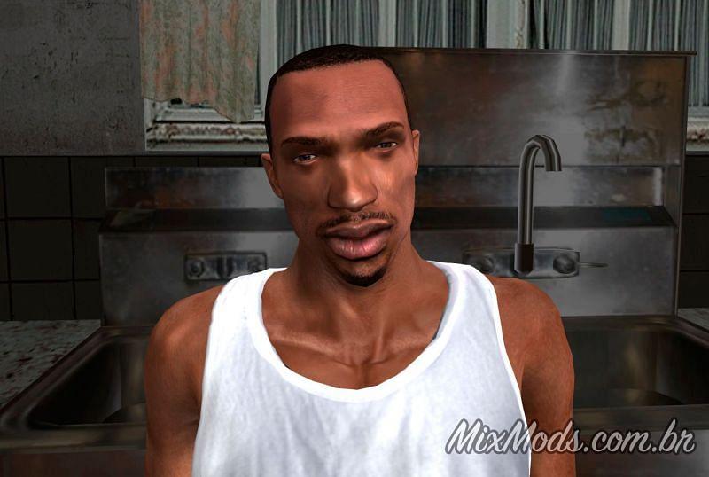 CJ Remastered | Image courtesy: mixmods.com.br