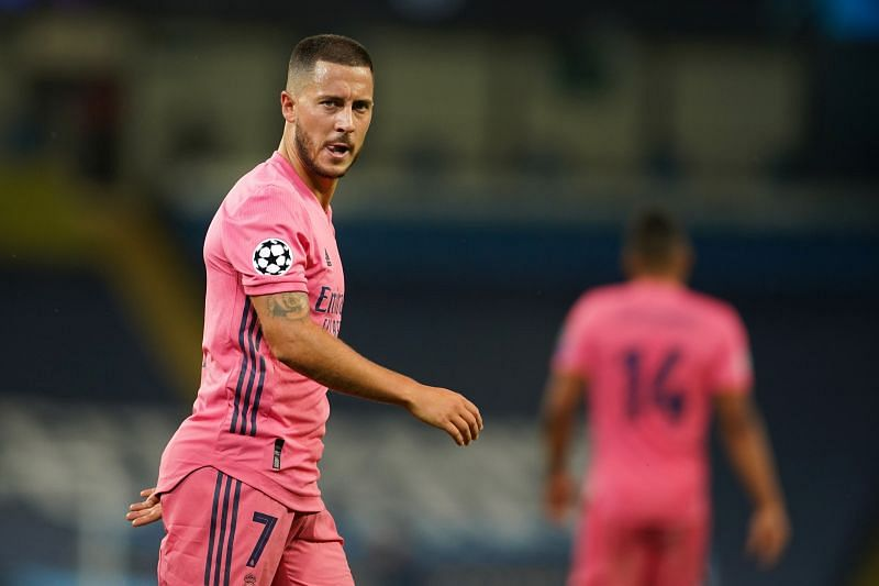 Eden Hazard has struggled for fitness since signing for Real Madrid.