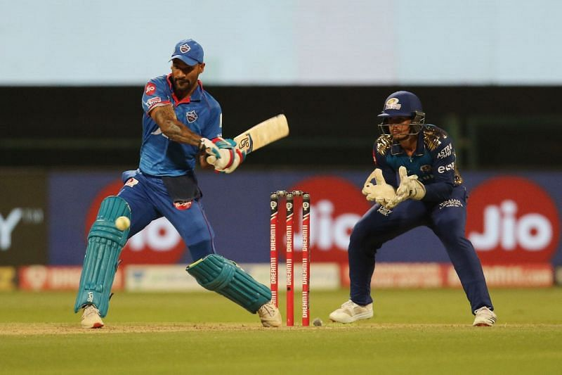 Shikhar Dhawan will need to step up and deliver against MI