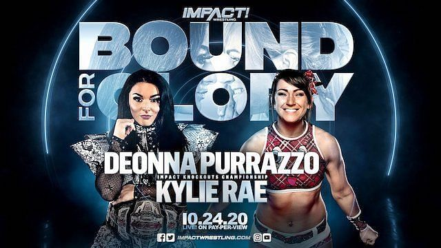 Deonna Purrazzo will face Kylie Rae at Bound For Glory 2020