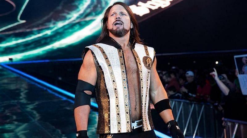 WWE सुपरस्टार्स एजे स्टाइल्स