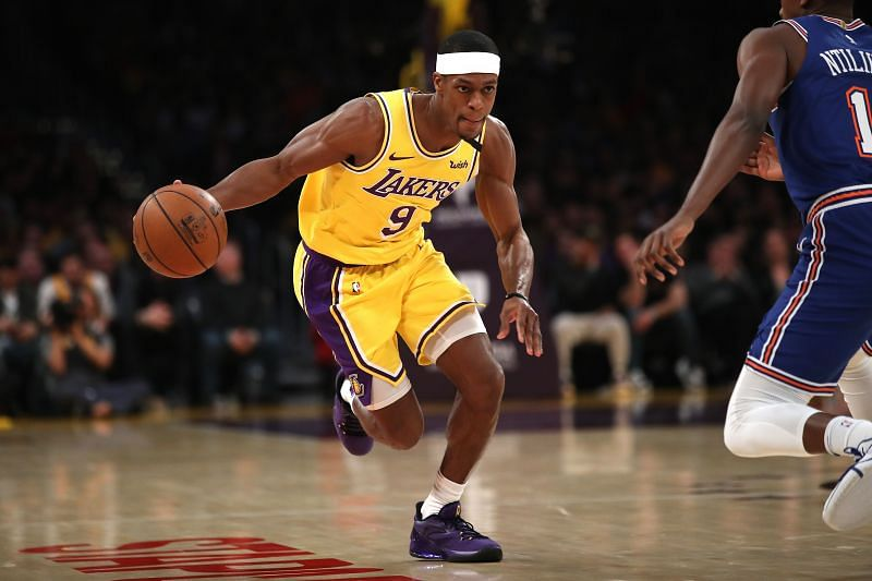 Rajon Rondo may not feature for the LA Lakers next season.