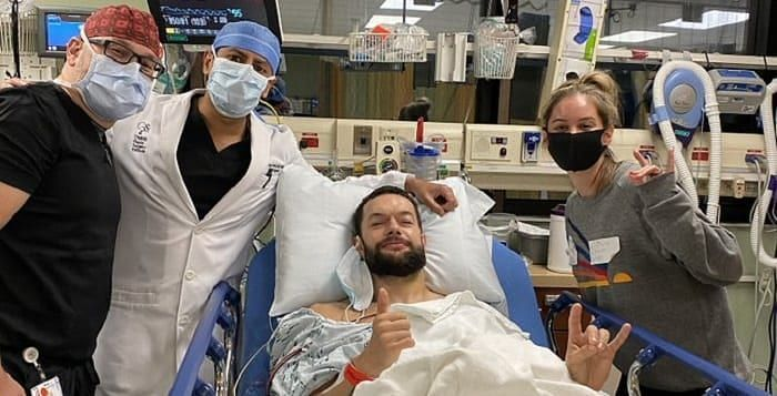 Finn Balor suffered a serious injury to his jaw after which he has been out of action for a long time