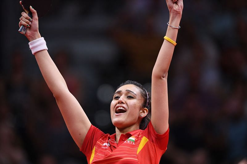Manika Batra won four medals at the 2018 Commonwealth Games