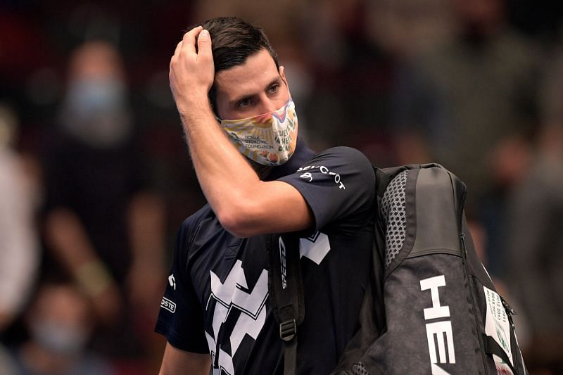 Novak Djokovic at the Erste Bank Open 2020