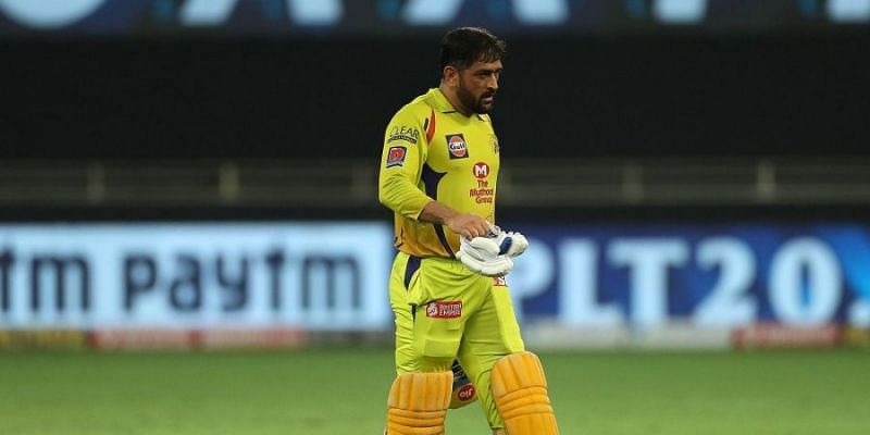 MS Dhoni has had a poor IPL 2020 with the bat for CSK.