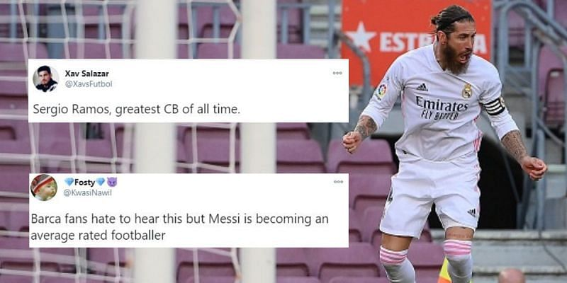 Real Madrid recorded a superb victory against Barcelona away from home