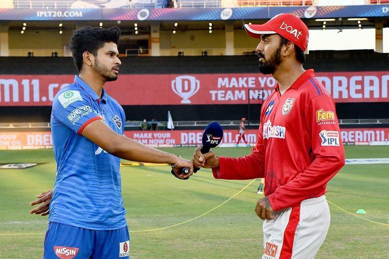 Shreyas Iyer(L) and KL Rahul(R) should be among the runs on Matchday 36. (Image Credits: IPLT20.com)