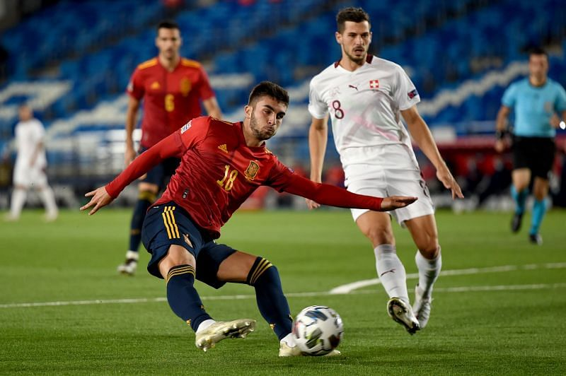 Spain created several chances in the game