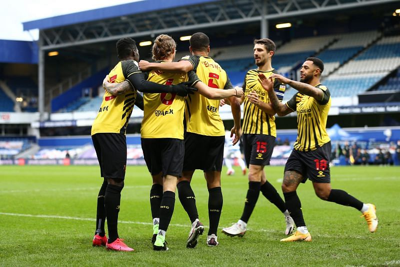 Watford could potentially go top with a victory