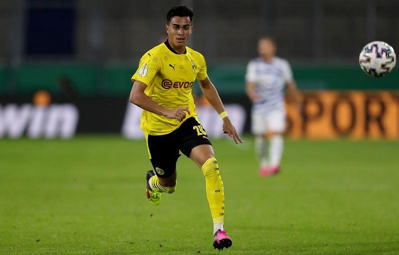 Reinier in action for Dortmund