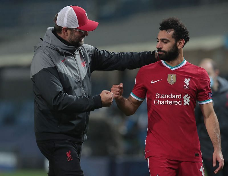 Jurgen Klopp delivered an update on the availability of his players, including Mohamed Salah
