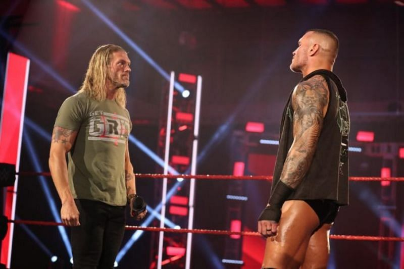 Edge and Randy Orton are destined to collide in the future.