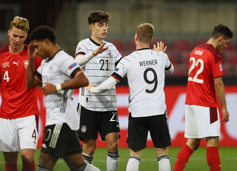 Germany will take on Ukraine in UEFA Nations League action