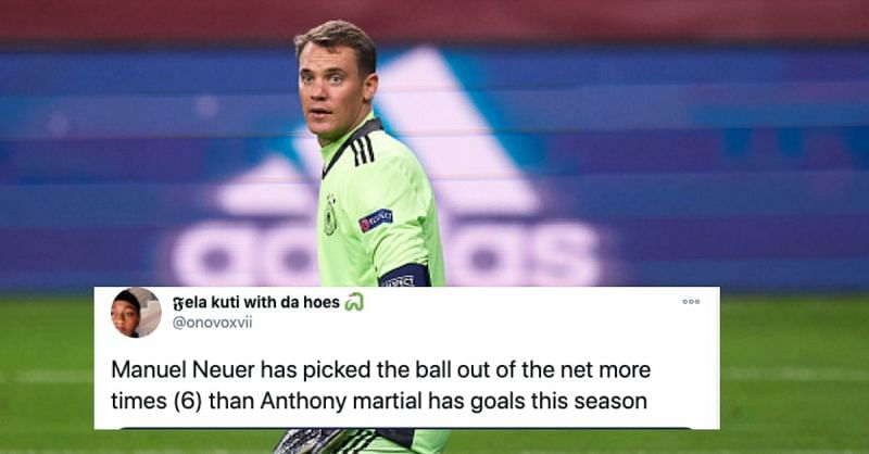 Germany and Manuel Neuer had a night to forget