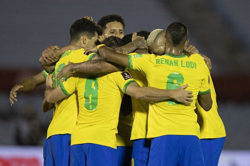 Brazil coasted to a 2-0 win against Uruguay in the World Cup qualifiers