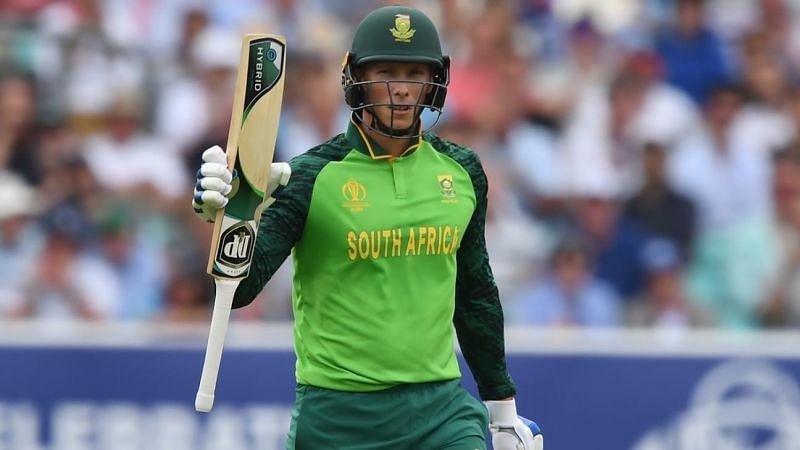 Van der Dussen: The best fit to replace Faf du Plessis