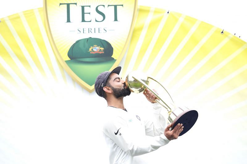 Virat Kohli remains the only Indian skipper to have won a Test series in Australia